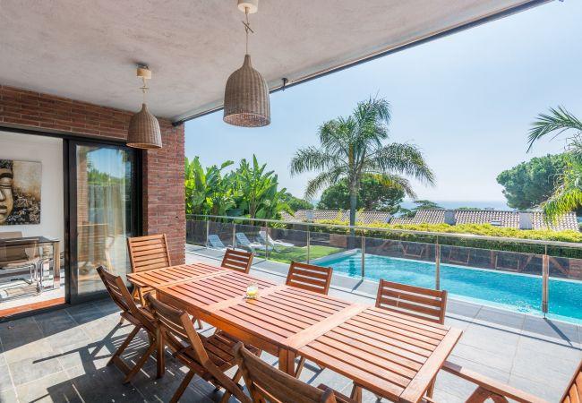 Villa en Caldes d´Estrac - OP HomeHolidaysRentals Adonis - Costa Barcelona