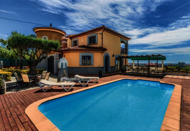 Villa en Pineda de Mar - OP HomeHolidaysRentals Dakota - Costa Barcelona