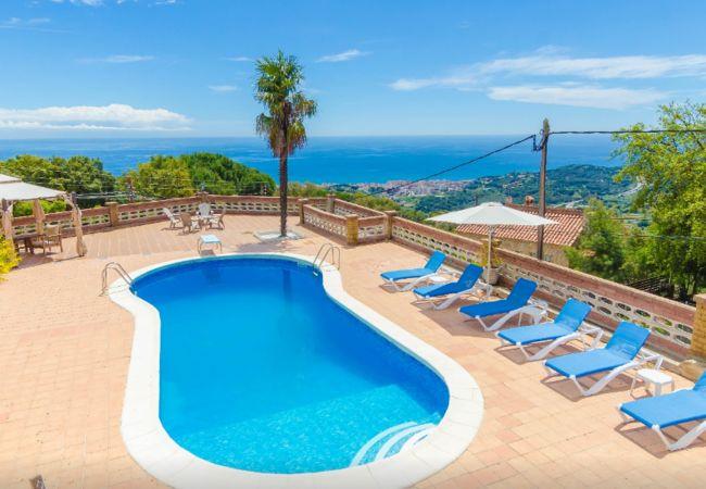 Villa en Pineda de Mar - HomeHolidaysRentals Malvina - Costa Barcelona