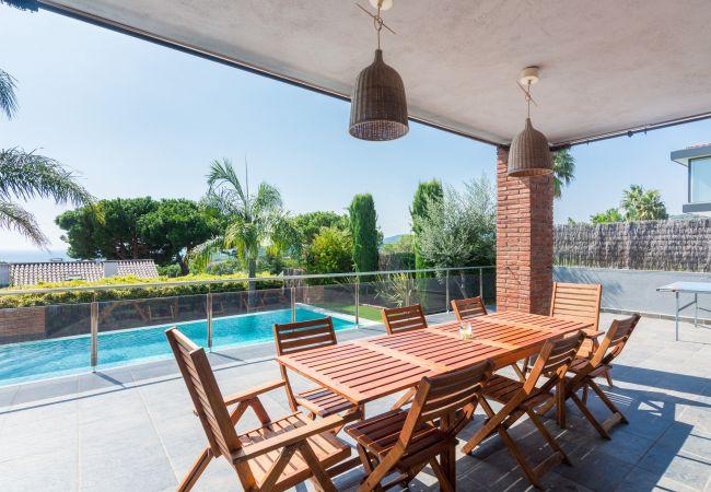Vil.la en Caldes d´Estrac - OP HomeHolidaysRentals Adonis - Costa Barcelona
